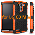 Case For LG G3 G 3 Mini Phone Case 2in1Dual Layer Kickstand Heavy Duty Armor Shockproof Hybrid Silicone Cover Case for LG G3Mini