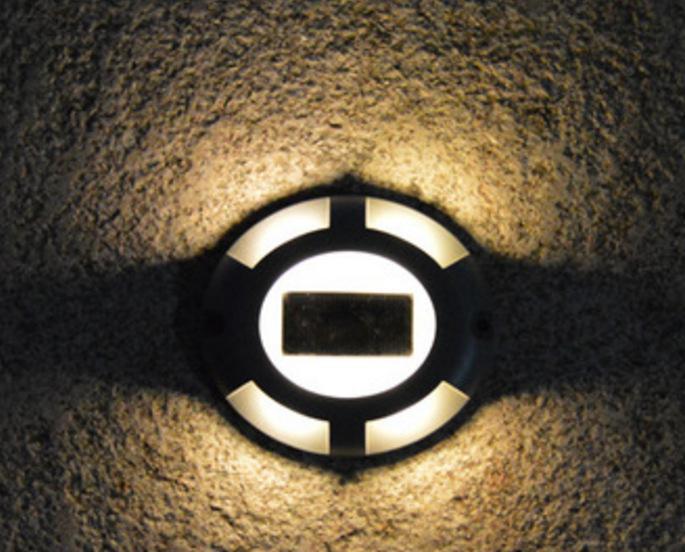 Солнечный палубный светильник s подъездная дорожка док-станция светодиодный светильник Открытый водонепроницаемый дорожный маркеры для ступенчатой тротуарной лестницы сад наземная дорожка двор - Испускаемый цвет: Warm light