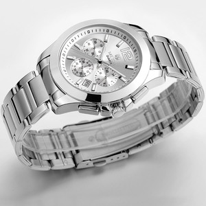 Image 5 - MEGIR הכרונוגרף נשים שעון יוקרה למעלה מותג תאריך שעונים פלדת רצועת קוורץ תאריך גבירותיי שעון מאהב מתנה נשי שעון תיבה 5006