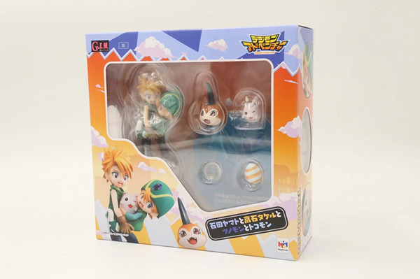 GEM Digimon Adventure ISHIDA YAMATO /& Gabumon PVC Figure Anime Toy Gift