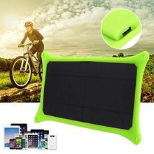 2017 Новый 5 В 6 Вт Portable Путешествия Зарядки Солнечной Энергии Панель Зарядное Устройство USB Для Мобильного Телефона Профессиональный Home Solar панель Подарок
