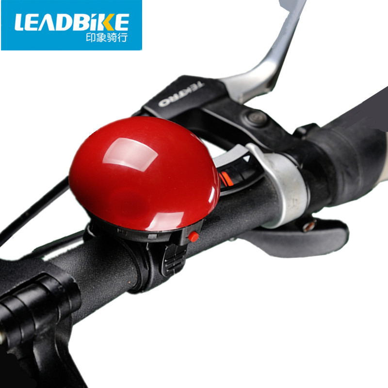 LEADBIKE Bicycle Mini Electronic Bell Bike Loud Horn Siren Ring Bell MTB Road Cycling Kids Safety Accessories High Quality A19