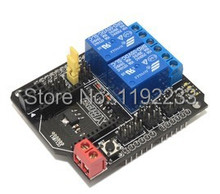 10pcs/lot 2 Channel Road Relay Shield Expansion Board Wireless(With XBee/BTBee interface) For Arduino
