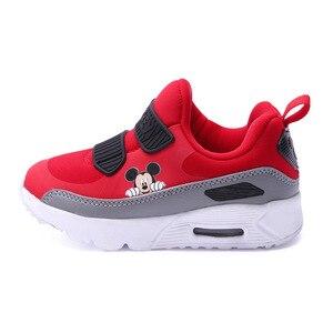 Image 2 - Disney kinderen sport casual schoenen herfst en winter nieuwe jongens zachte bodem anti slip luchtkussen schoenen running schoenen meisjes