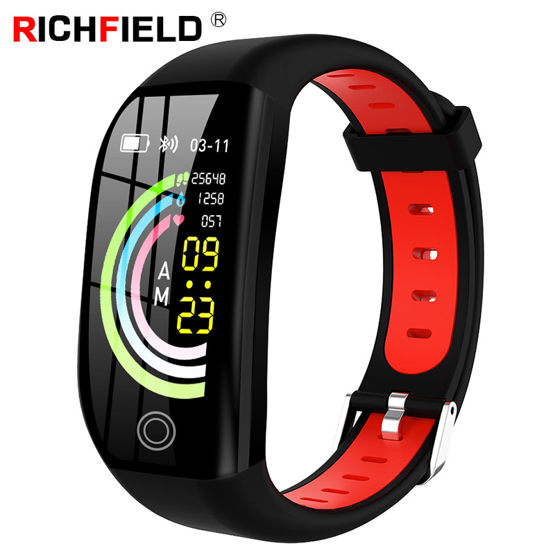 F21 Smart Band Blood Pressure Watch IP68 Waterproof Swimming Sleep Monitor Wristband Fitness GPS Activity Tracker Smart Bracelet