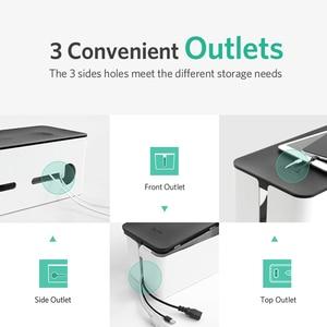 Image 4 - Ugreen Thuis Elektronische Accessoires Kabel Organizer Box Voor Power Strip Opslag Usb Charger Cable Management Hoge Capaciteit Doos