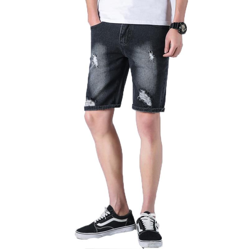 2018 summer mens short jeans brand clothing bermuda summer board shorts thin breathable denim shorts male Beach Shorts homme 36