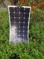 Белые полумягкие солнечные панели 100 Вт  использование американского импорта чипа A-level Sunpower коэффициент конверсии 21.3%