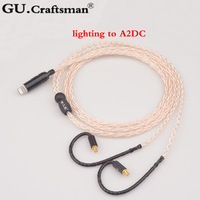GUCraftsman 5n OFC silver A2DC ckr90is ckr100is ls50 ls70 e40 e50 ls200 ls300 ls400 Headphone upgrade Cab