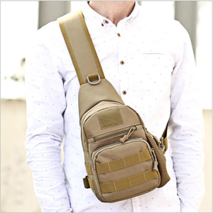 Small Military Crossbody Chest Bag Men Kettle Bag Camouflage Travel Bag Waterproof Oxford Cloth Camping Bag
