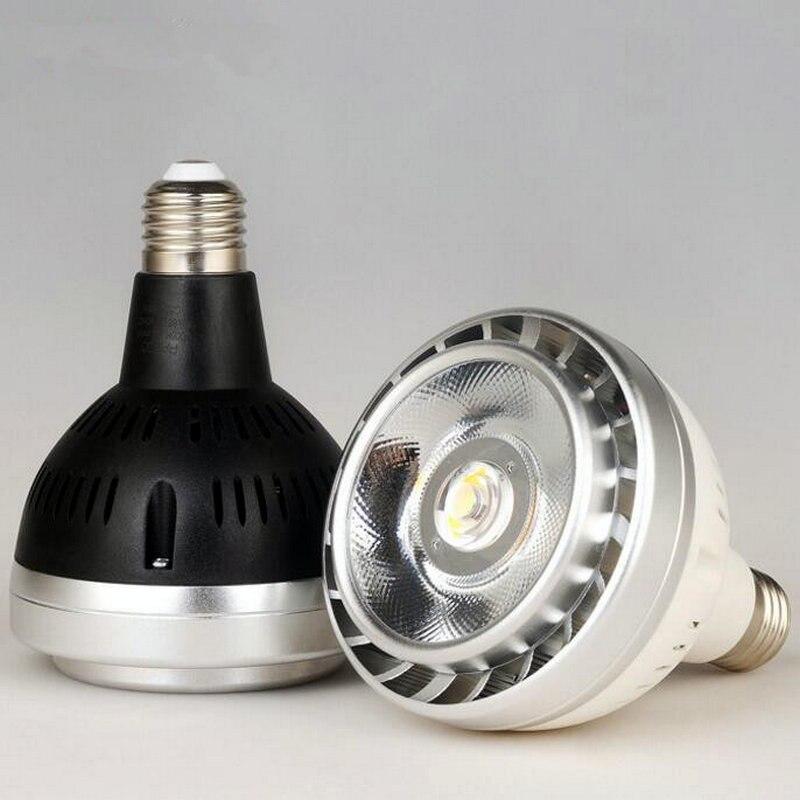 NO Dimmable PAR30 E27 30W COB LED BULB Light lamp warm white Cool white LED Lamp E27 220V 240V Free shipping лонгслив violeta by mango violeta by mango vi005ewaqti7