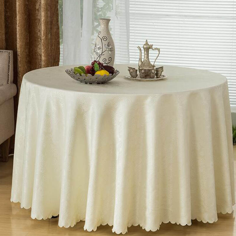 Balle Round Tablecloth Polyester Chinese Style Tablecloths -7753