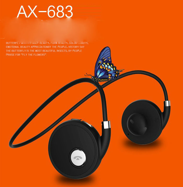 ФОТО New  Suicen AX-683 Bluetooth 4.1+EDR Wireless Noise Isolating Multipoint Mobile Phone Sports Stereo Music Headphone Headset