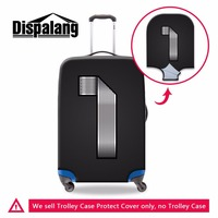 Dispalang travel luggage protective cover number 1 print elastic suitcase cover thick trolley case cover custom dustproof cover