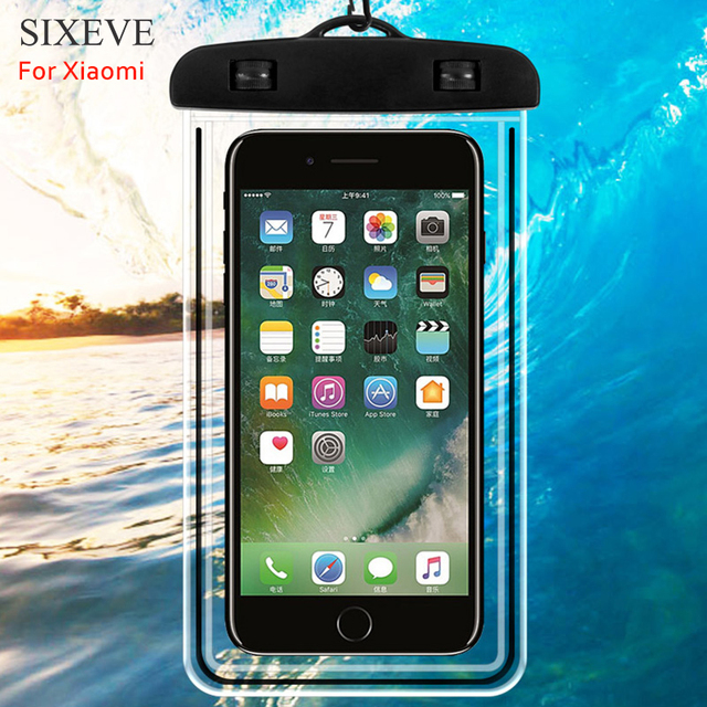 promo code 1e8a2 6663d US $2.06 20% OFF|SIXEVE IPX8 Waterproof Case For Xiaomi Redmi Note 5 4X 4 3  3S 5a 6 Pro Prime S2 4a 6a mi5s Plus Mi mix2s max 3 2 A1 A2 lite 6X 8-in ...