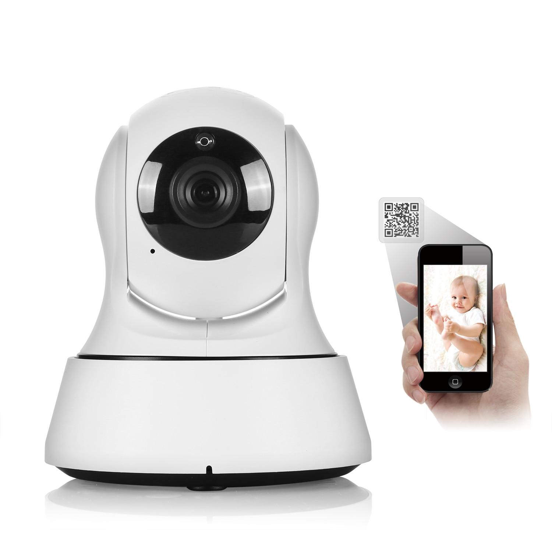 SANNCE Home Security Baby Monitor Caméra IP Wi-Fi Sans Fil Mini Réseau Caméra de Surveillance Wifi 720 P Nuit Vision CCTV Caméra