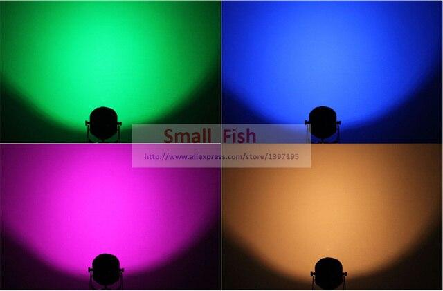 2xLot COB Led Par Light 60W 3IN1 RGB Par Led Can Beam Wash DJ Disco DMX512 Stage Lighting Effect Home Party Equipments for Sale