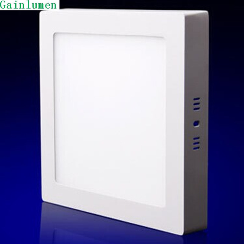 Surface Mounted Led Panel Downlight 24w Square LED Ceiling Lamp AC85-265V LED Panel Light SMD2835 CE ROHS