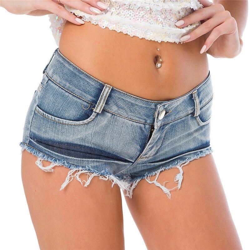 NORMOV New Women Summer Sexy   Short   Jeans Super Hot Mini Booty Denim   Shorts   Club Party Casual Skinny Jean   Shorts   Feminino