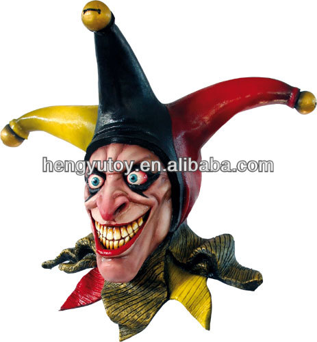 Best selling Carnival Halloween Props Latex costume Scary Clown Joker Mask for Party  sc 1 st  AliExpress.com & Best selling Carnival Halloween Props Latex costume Scary Clown ...