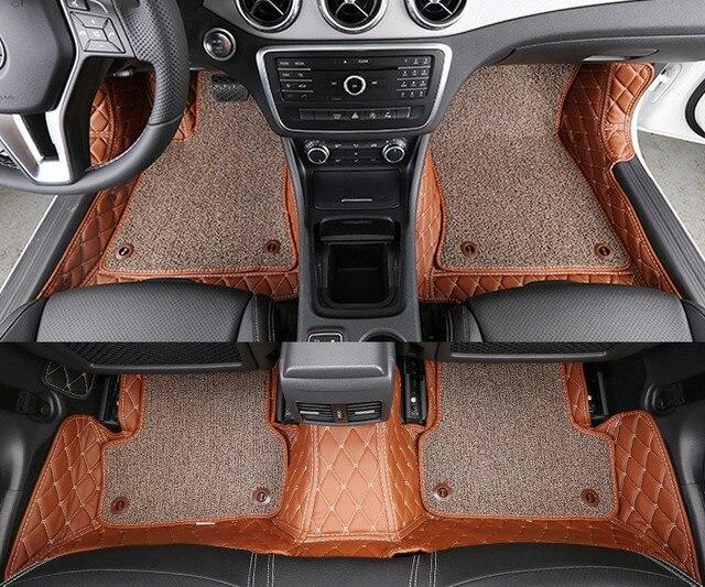 haut de gamme personnalis de voiture tapis de sol pour mercedes benz gla200 lhd tous doublure. Black Bedroom Furniture Sets. Home Design Ideas