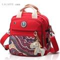 Free shipping NAPPY BAG insulation shoulder diagonal portable shoulder handbag canvas bag hit the color female baby diaper bag