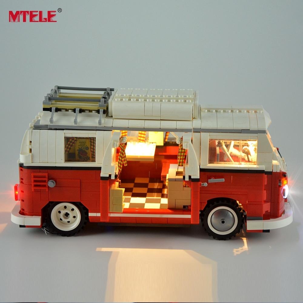 MTELE DIY LED Light Up Kit Untuk Creator Seri T1 Camper Van Light Set - Mainan bangunan dan konstruksi - Foto 2