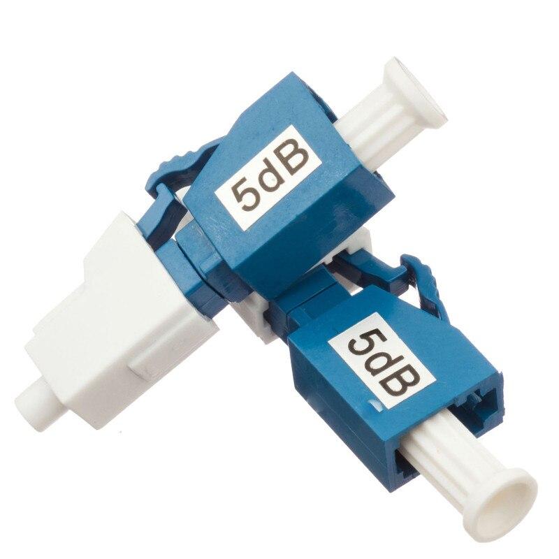 Image 2 - 10PCS LC UPC 5bd Simplex mode fiber optic Attenuator LC 5dB metal male Fiber Attenuator-in Fiber Optic Equipments from Cellphones & Telecommunications
