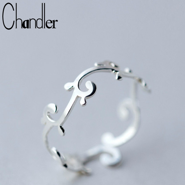 Chandler silver Branch Leaves Knuckle Toe Rings For Women Adjustable Wedding Ban