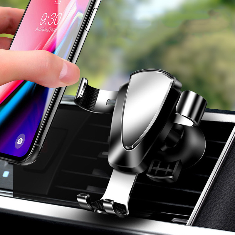 Gravity Car Phone Holder For iPhone Samsung NO Magnetic Air Vent Mount Car Holder For Phone In Car Mobile Phone Holder Stand mobile phone car vent holder