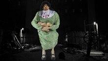 лучшая цена Halloween Party Decorations Mummy Zombie Sadako Voice Control Horror Props Hunted House Bar Cosplay Scene Tricky Toy Supplies
