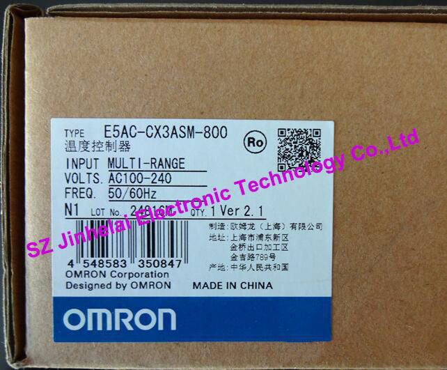 100% Authentic original E5AC-CX3ASM-804, E5AC-CX3ASM-800 OMRON Digital controller AC100-240V стоимость
