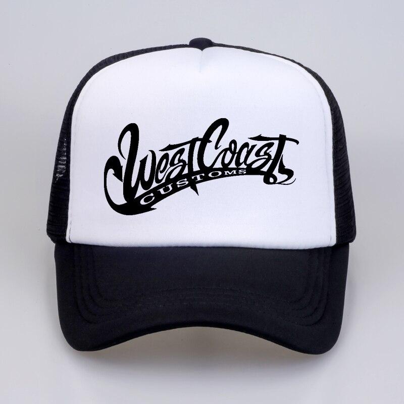Hombres Mujeres west costas aduanas GLDAN nuevo sombrero letras gorras de béisbol  verano Hip Hop Casual fresco casquillo del camionero sombreros ... 7a396c00d46