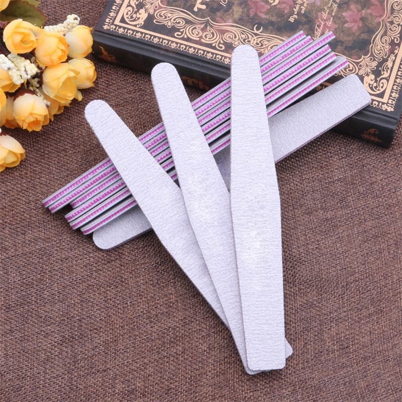 Nail Art Sanding Buffer Buffing Tips Manicure Acrylic Gel File Tool 100/180 Grit Hot Sale