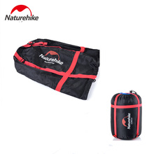 Naturehike Compression Stuff Sack Bag For Sleeping Bag Multifunctional Lightweight Outdoor Camping Travel Pack naturehike yb02 multifunctional outdoor nylon waist bag blue gray 3l