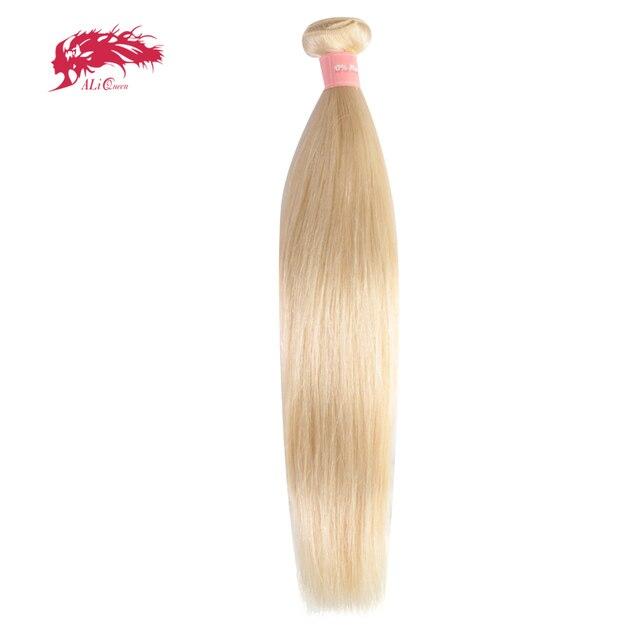 Ali Queen Hair 613 Blonde Hair Bundles Straight Human Hair Extension