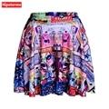 Hipsterme Skirts Plus Size Sexy Women's Summer The batman comic Skirts 3D Digital Printing Skirts