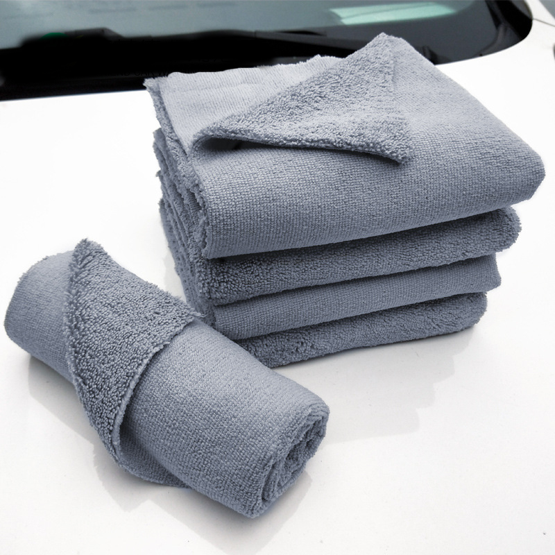 Image 3 - 40*40cm Edgeless Microfiber Towel Car Cleaning Car Wash Detailing Premium Super Absorbent Towel For Car Wash Drying Cloth 2019-in Sponges, Cloths & Brushes from Automobiles & Motorcycles