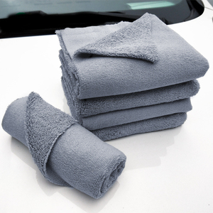 Image 3 - 40*40cm Edgeless Microfiber Towel Car Cleaning Car Wash Detailing Premium Super Absorbent Towel For Car Wash Drying Cloth 2019
