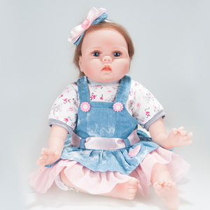 Reborn Doll Simulation silicagel Baby Burst Recommended 55 Cm