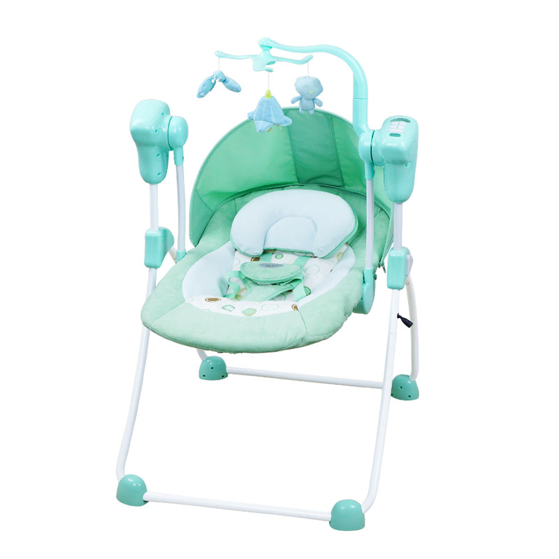 High quality small baby cradle  shakes bed  intelligent electric baby cradle automatic rocking chair