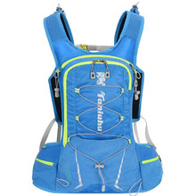 Cycling Backpack TANLUHU 687 Nylon 15L Sports Bag Running For 2L Water Outdoor Climbing Hiking