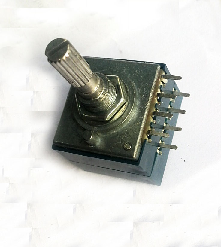 1pc x 100KAX2 LOG Type Volume Potentiometer 8PIN with Loudness
