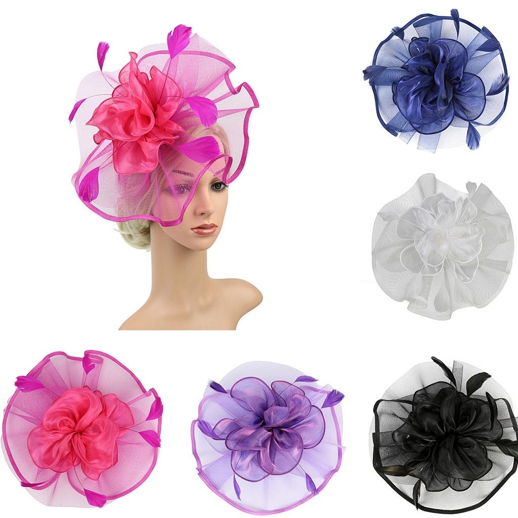 Headpiece Feather Flapper Headband Headdress Vintage Prom Great Gatsby Headband Charleston Bridal Headpiece Hair Accessories VE7