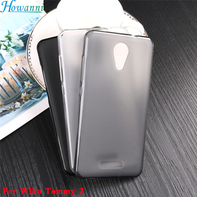 Soft Phone Case For Coque Wiko Tommy 2 Case Silicone 5.0 Inch Back Cover For Wiko Tommy2 Wiko Tommy 2 Cover Phone Shell Capa