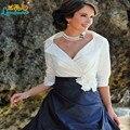 На заказ мать невесты платья плюс размер мать невесты брючный костюм с Курткой vestidos де madrina de madres novia