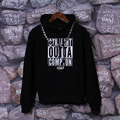 Зима Straight Outta Compton Мужчины Толстовки Eazy E NWA Dr. Dre хип-Хоп Флис Толстовка Черный Красный Мода Для Печати в шляпе пуловер