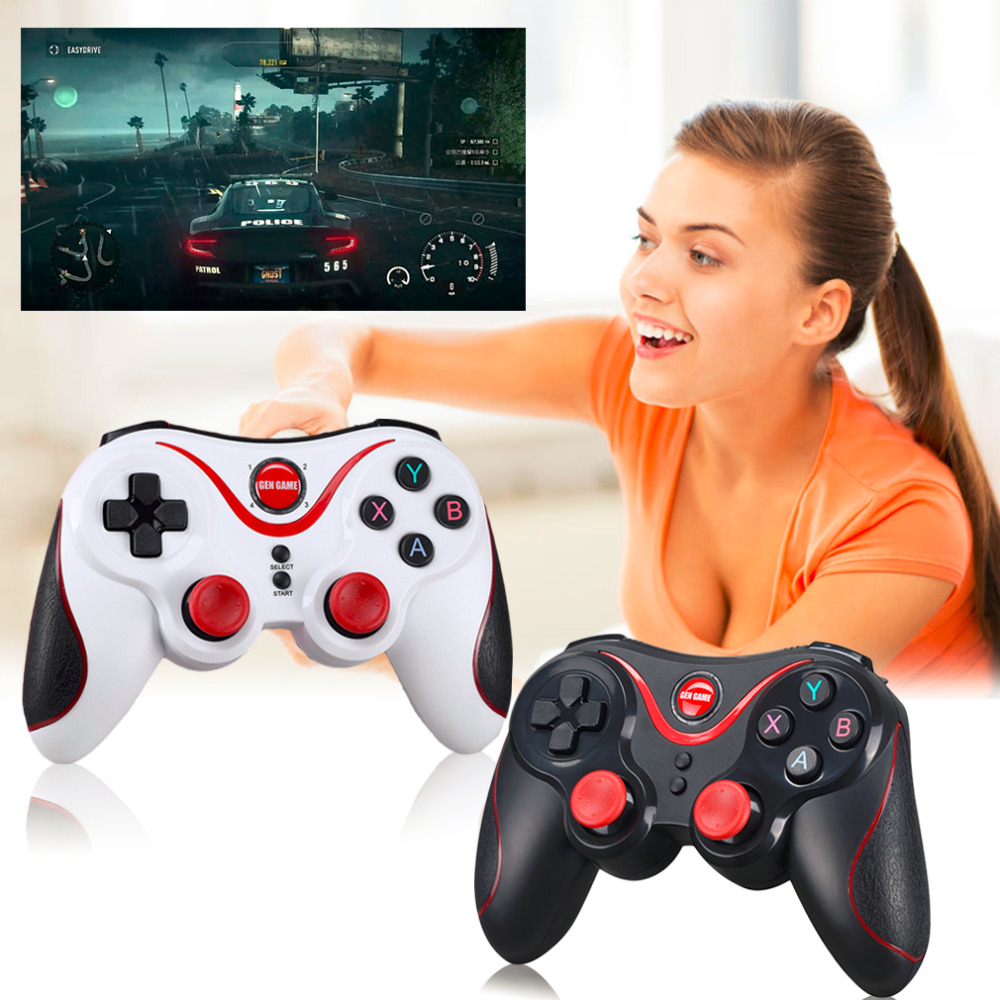Gen Game S5 Wireless Bluetooth Gamepad Game Controller Handle Remote Joystick For Android Tablet Came Console