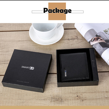 Smart Wallet for Men Genuine Leather High Quality Anti Lost