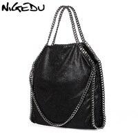 Women Bag PU Leather Fashion Chain Woven Messenger Shoulder Bags Bolsa Feminina Carteras Mujer Stella Handbags